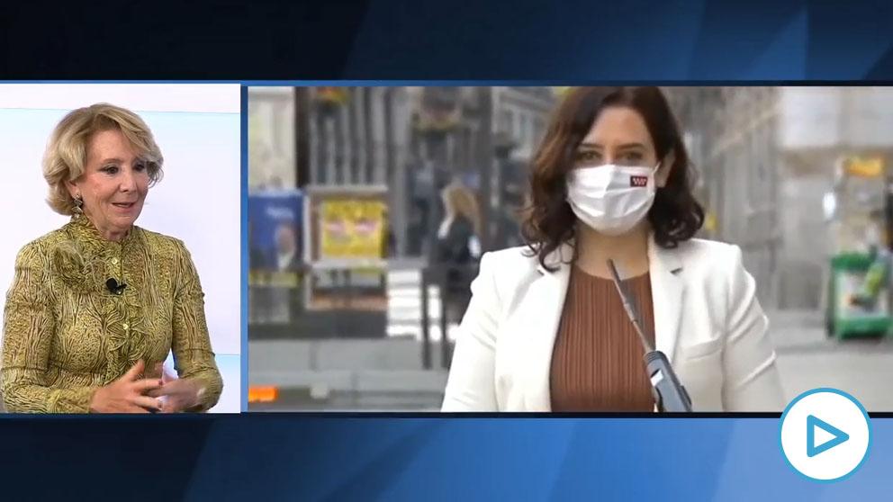 Esperanza Aguirre, en HOY RESPONDE de OKDIARIO