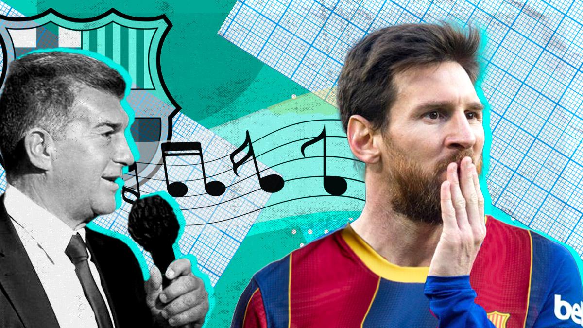 Laporta tiene tarea por delante con Messi.