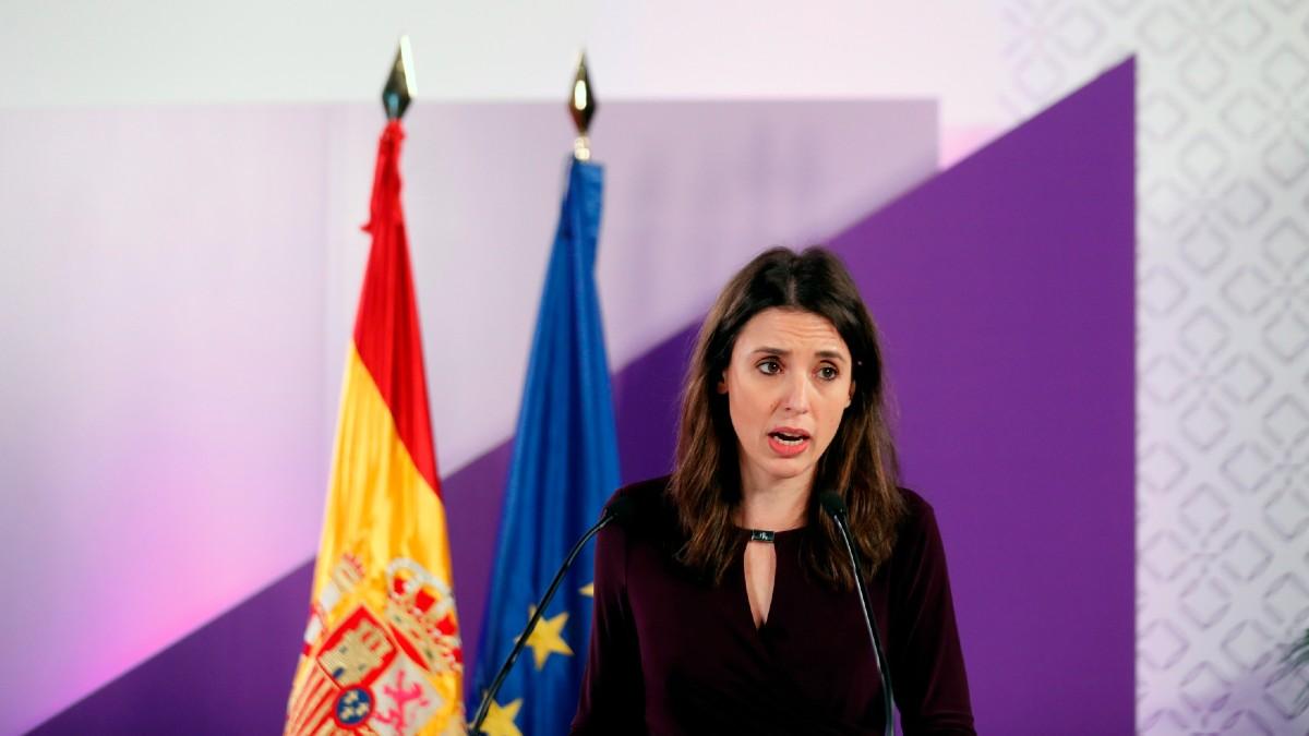 La ministra de Igualdad, Irene Montero. (Foto: EFE)