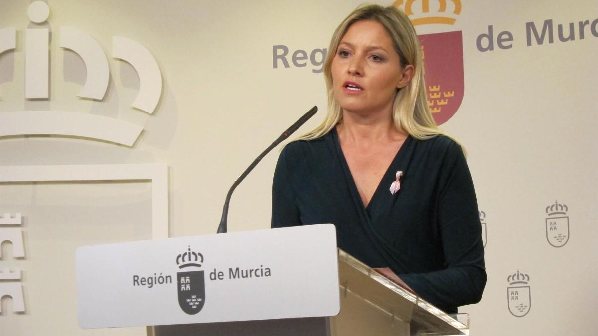 Ana Martínez Vidal, candidata de Ciudadanos en la moción de censura de Murcia.