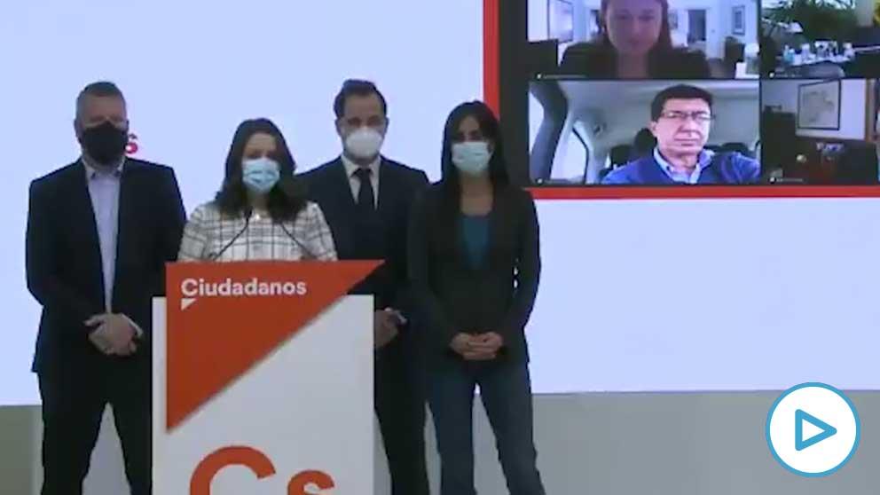Inés Arrimadas en octubre: «Quien ponga en peligro la estabilidad de los gobiernos tiene un problema moral».