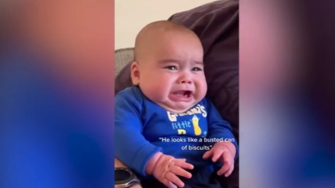 Esta es la reacción viral del famoso 'bebé Yoda' de TikTok