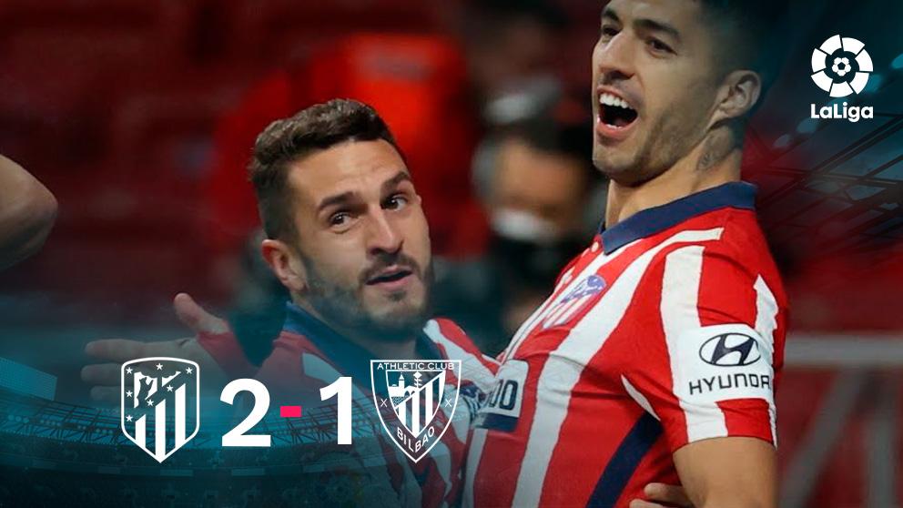 El Atlético venció al Athletic en el Metropolitano.