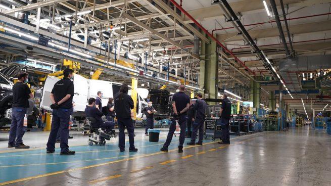 La planta de Mercedes en Vitoria