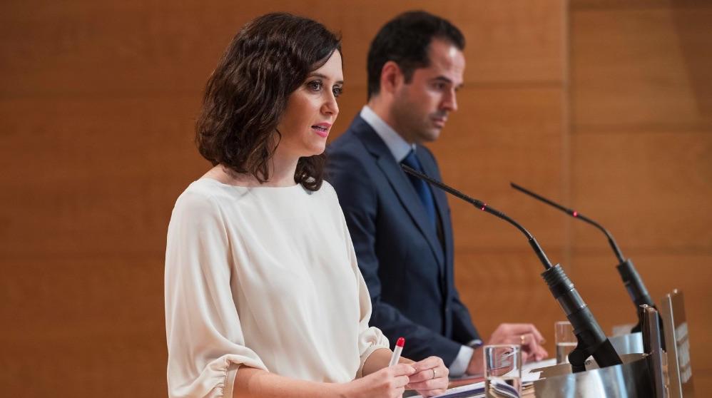 Isabel Díaz Ayuso e Ignacio Aguado (Foto: Comunidad de Madrid)