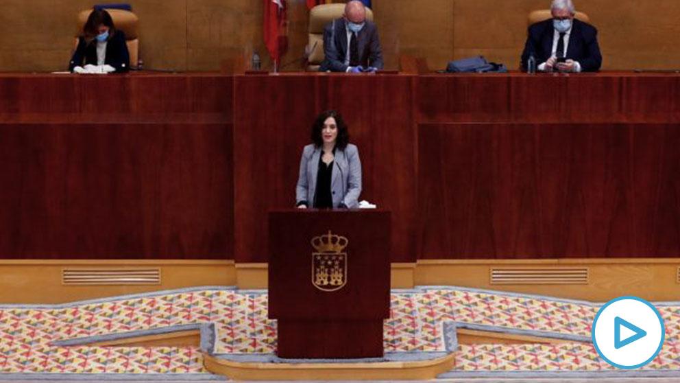 La Mesa de la Asamblea admite a trámite las mociones de censura de PSOE y Más Madrid