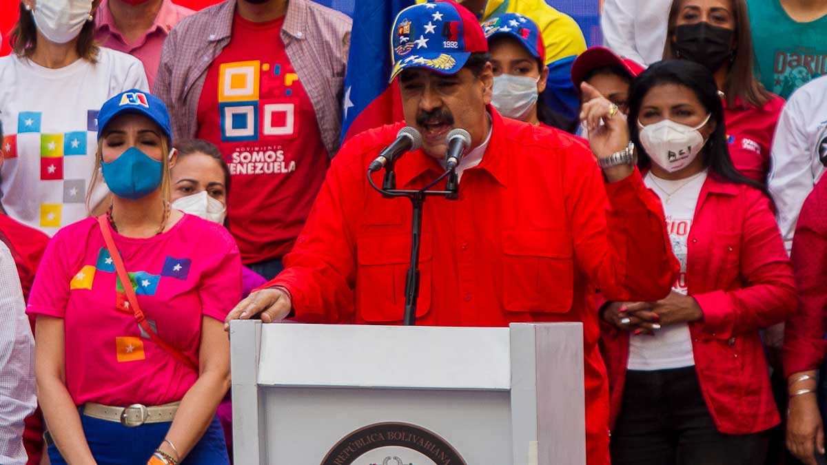 Nicolás Maduro. Foto: EP