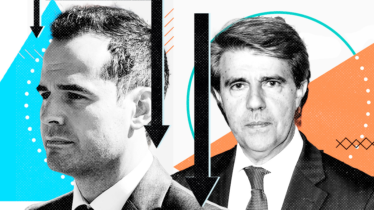 Ignacio Aguado y Ángel Garr
