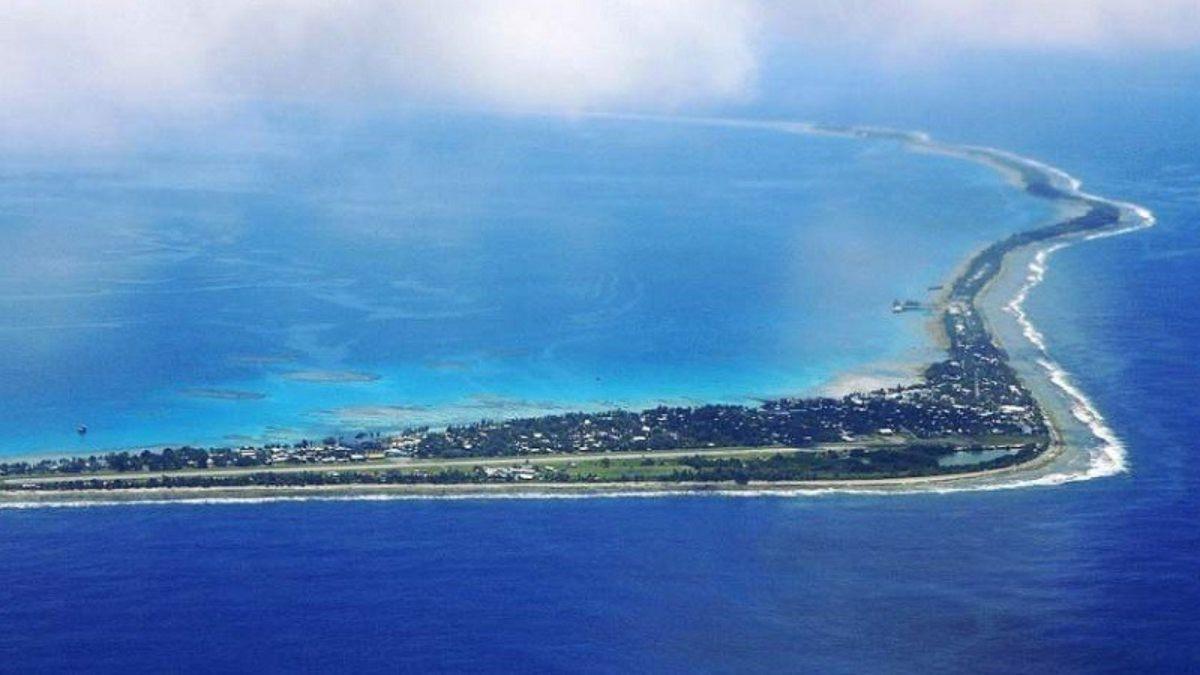 Isla de Tuvalu, segundo país más pequeño del mundo