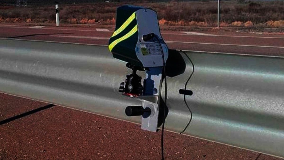Radar móvil DGT