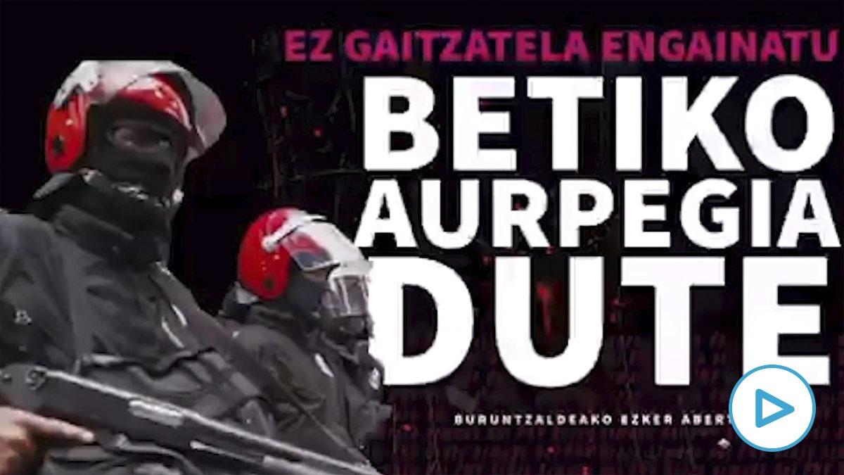 Las juventudes de Segi publican un vídeo contra la presunta violencia policial de la Ertzaintza.