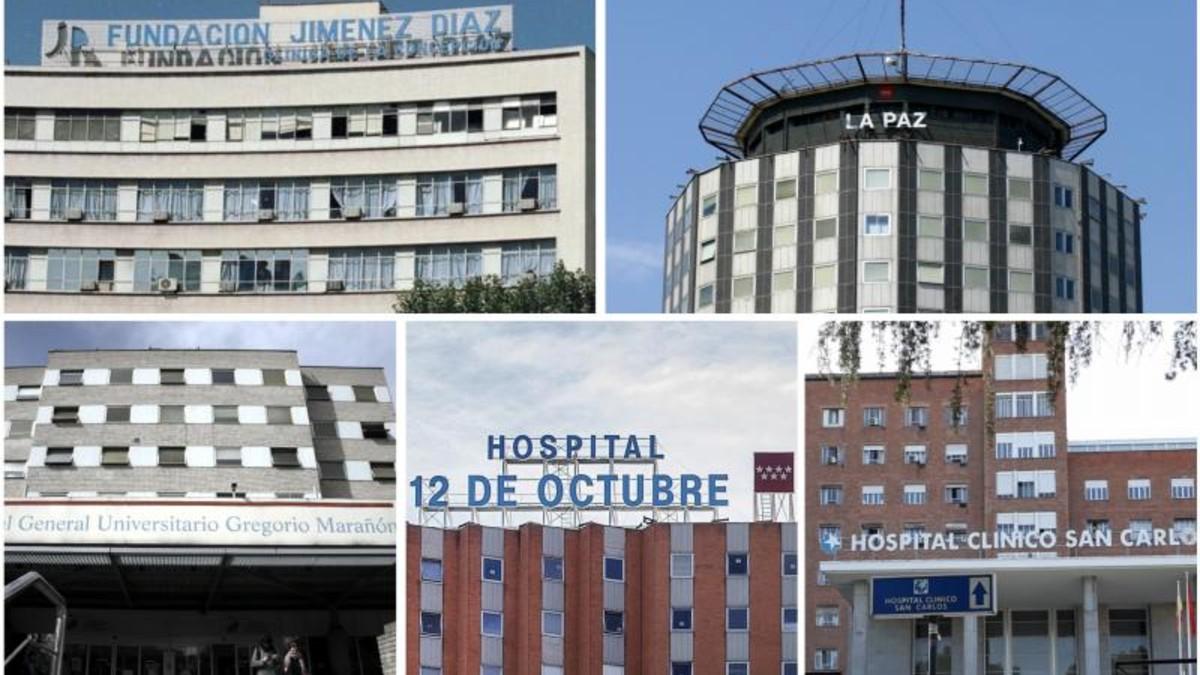 Cinco hospitales madrileños se sitúan entre los 200 mejores centros del mundo