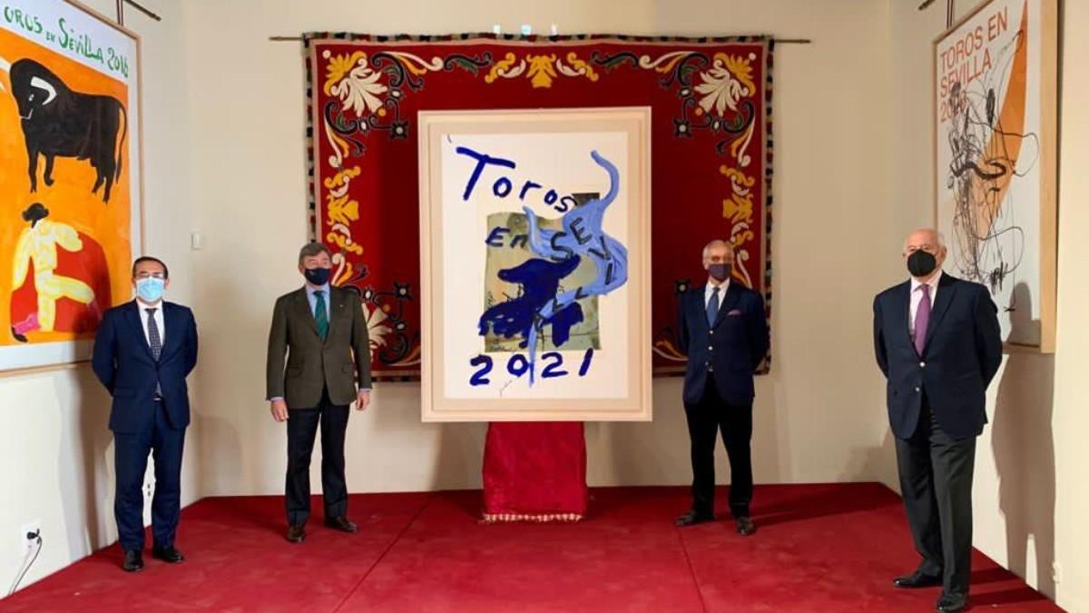 Presentación del cartel Feria de Sevilla 2021.