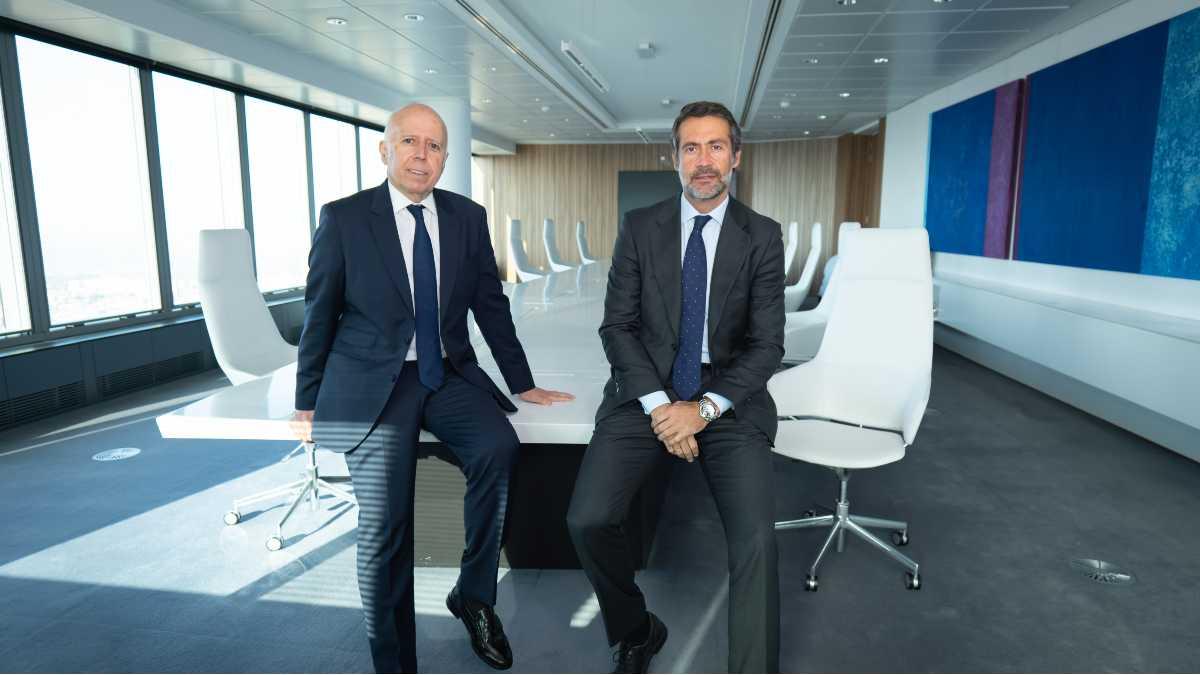 Hilario Albarracín, presidente de KPMG en España y Juanjo Cano, consejero delegado y próximo presidente de la firma.