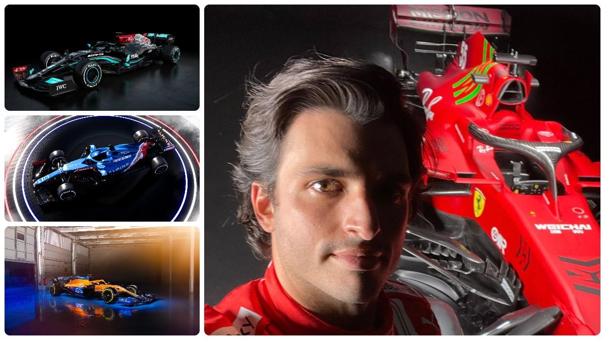 Los coches que en 2021 competirán en Fórmula 1