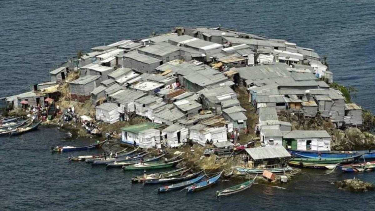 Migingo, la isla más poblada del mundo