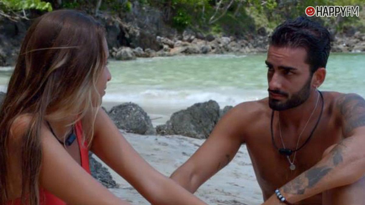 Toni y Claudia en La isla de las tentaciones