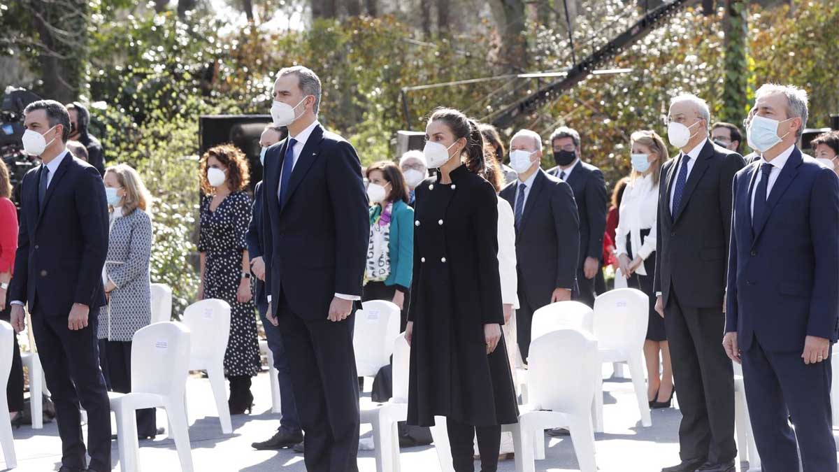 Homenaje a las víctimas del terrorismo. Foto: Europa Press