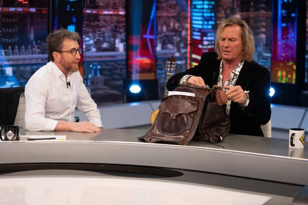 El hormiguero: Pocholo mostró cómo es actualmente su famosa mochila y qué lleva dentro