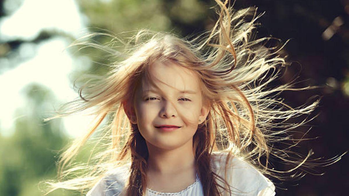 El porqué que a los niños se les caiga el cabello.