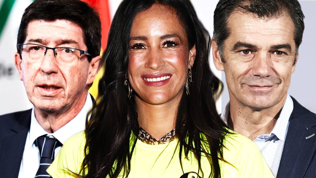 Juan Marín, Begoña Villacís y Toni Cantó