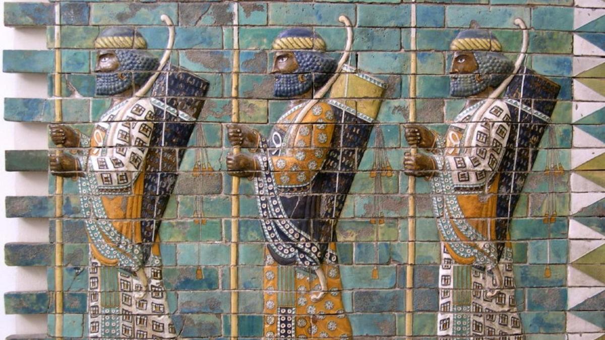 Los Inmortales persas, grandes guerreros de la historia