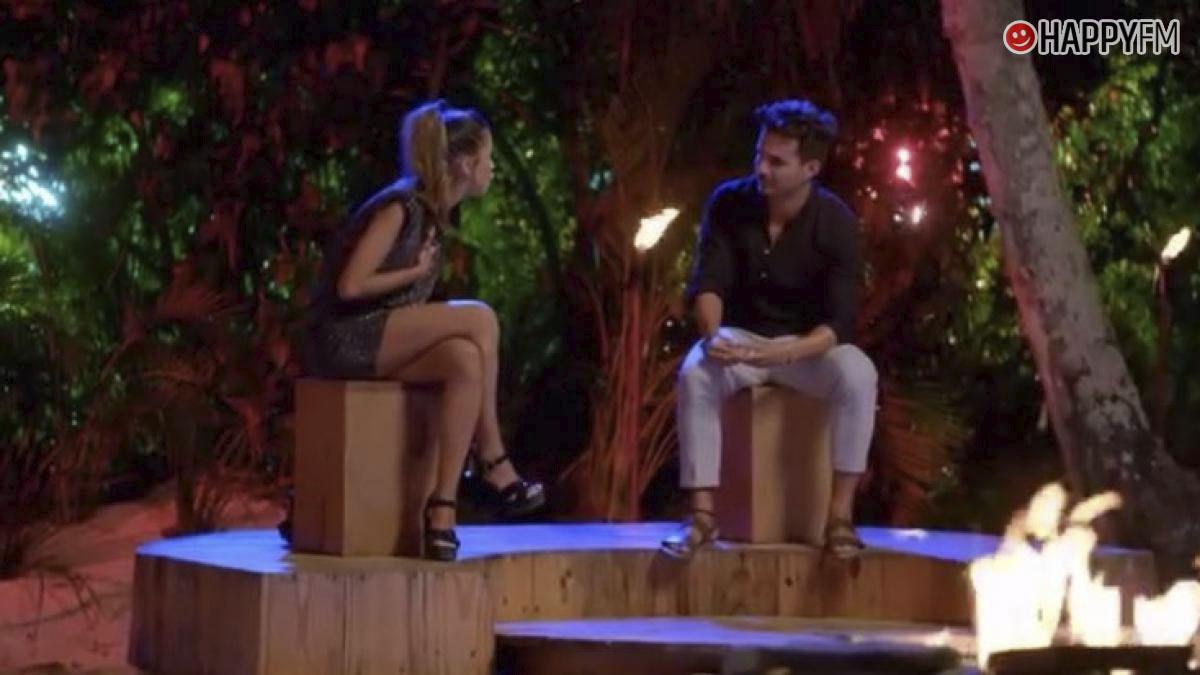 Lucía y Manuel en 'La isla de las tentaciones'