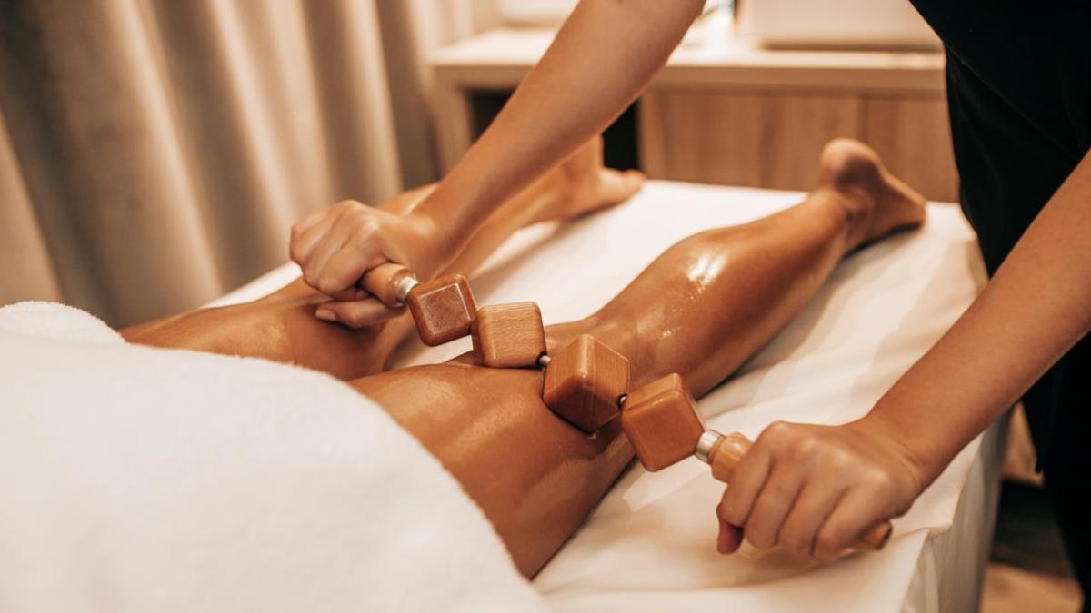 Esta terapia emplea instrumentos de madera