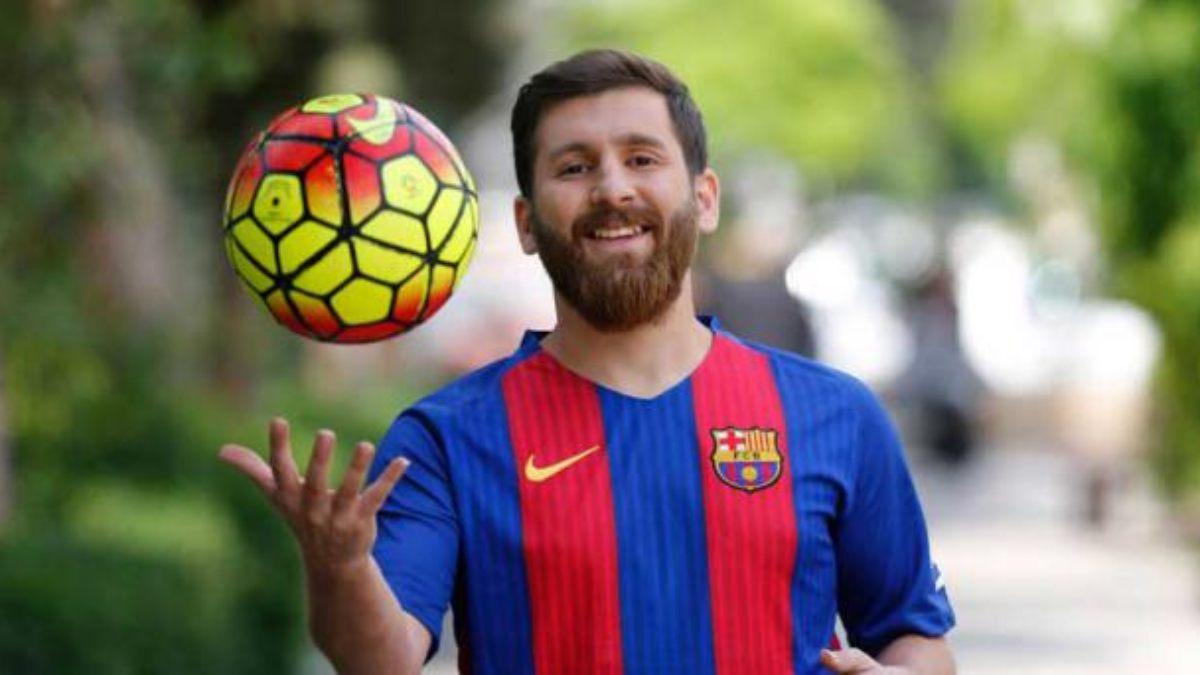 El doble iraní de Messi