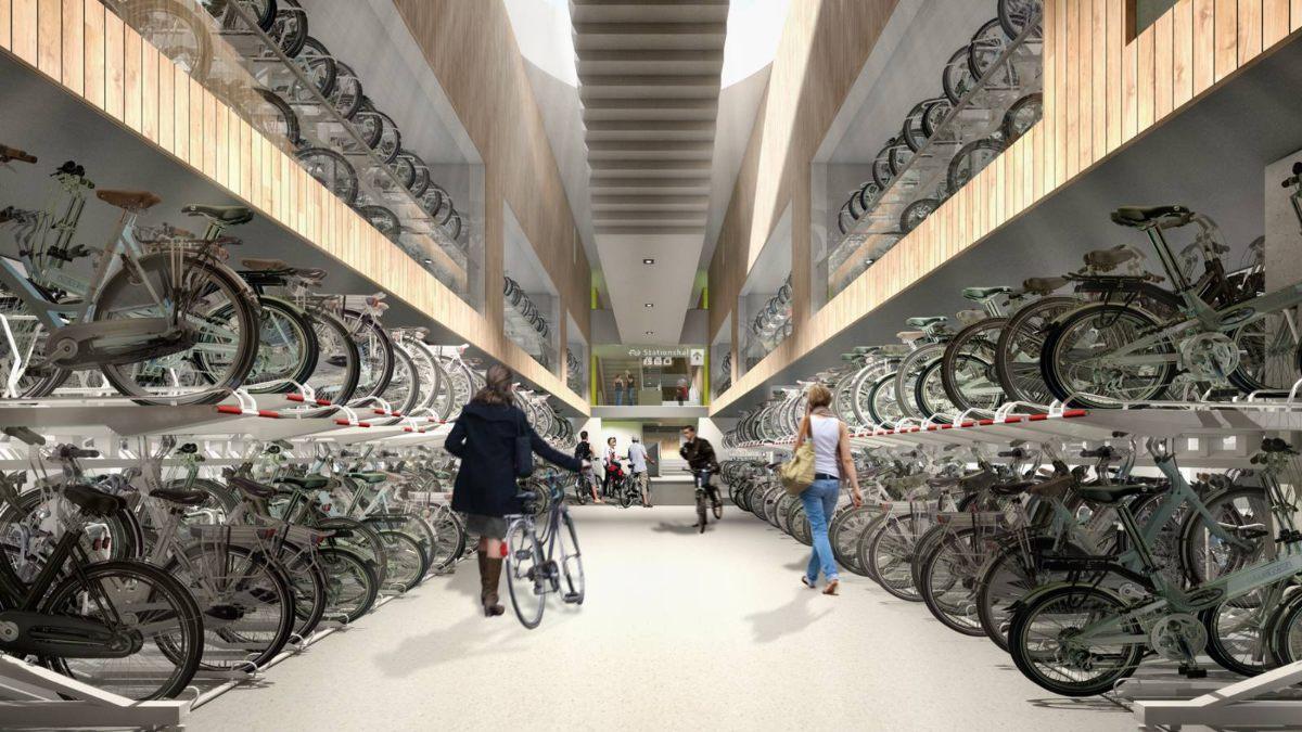 Parking de bicicletas de Utretch