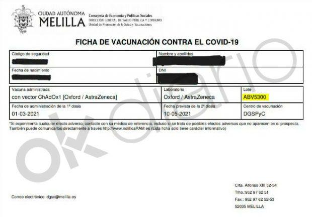 vacuna policías AstraZeneca