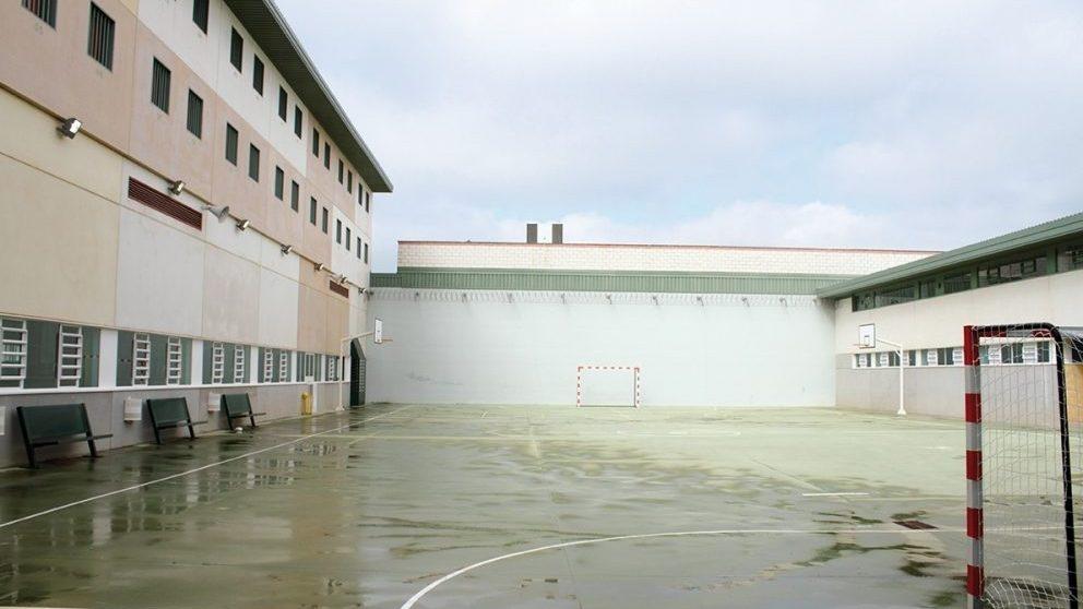 Patio de la cárcel de Archidona, en Málaga.
