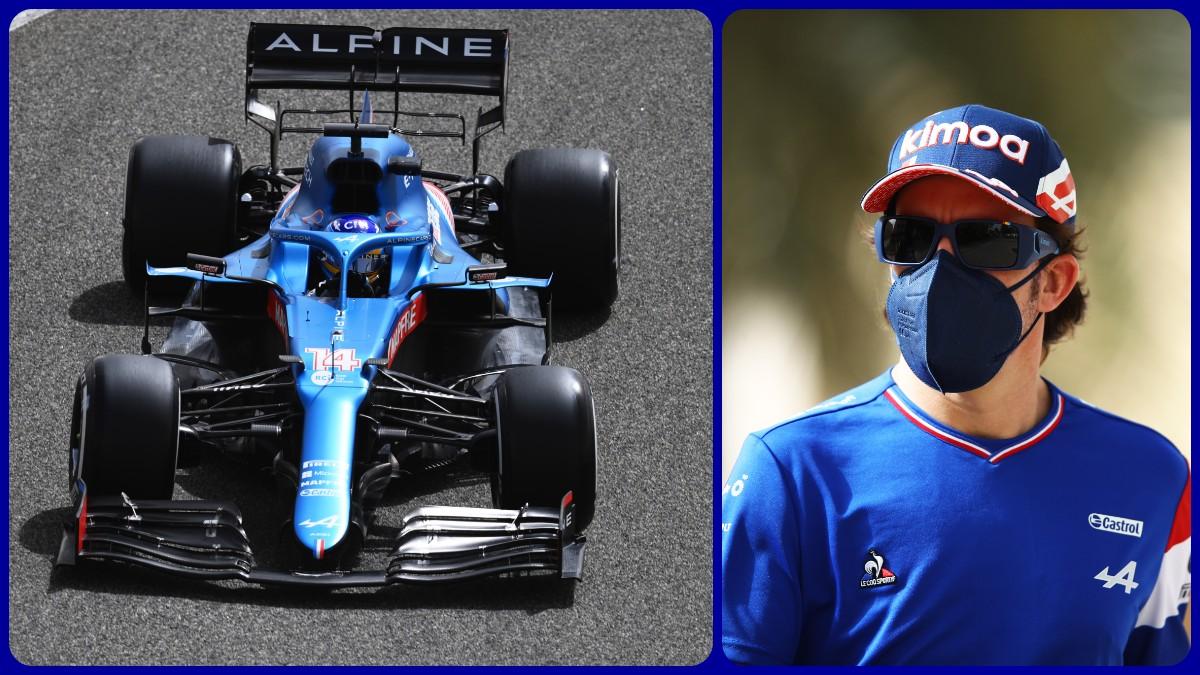 Fernando Alonso vuelve a subirse a un Fórmula 1 en Bahréin. (Getty)