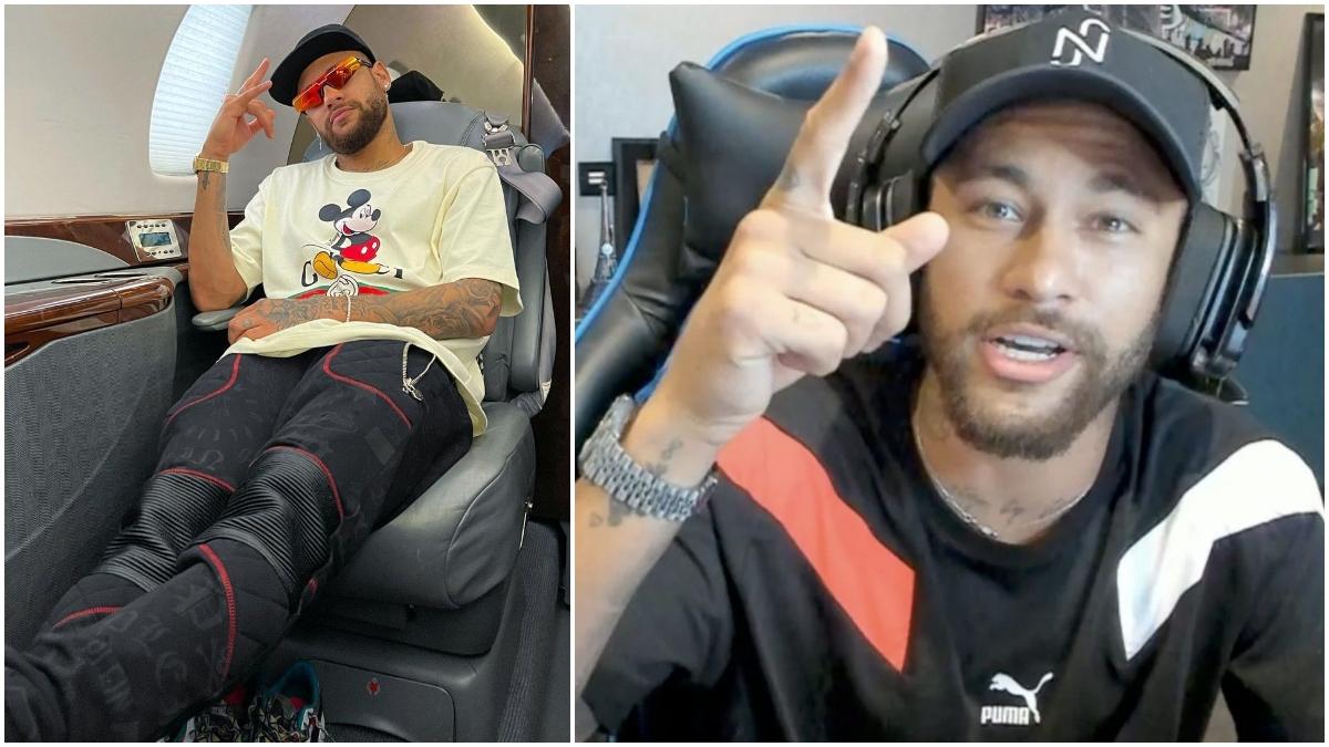 Neymar en fotos de Instagram