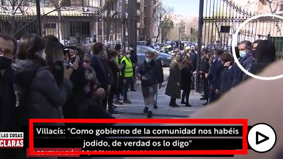 TVE manipula la conversación entre Villacís y Casado
