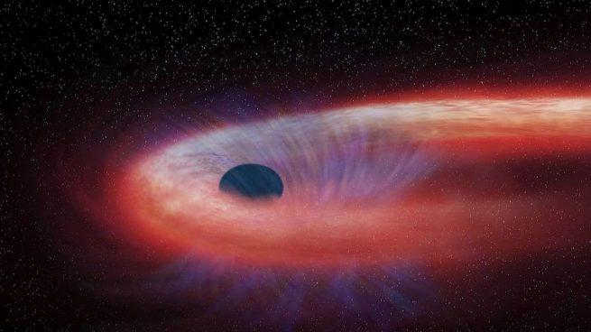Hallan un agujero negro supermasivo que se mueve a 177.000 kilómetros por hora