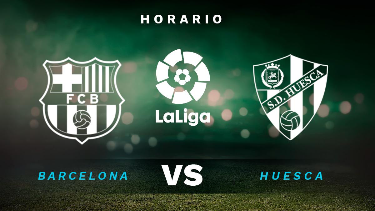 Liga Santander 2020-2021: Barcelona – Huesca | Hora y dónde ver el partido de la Liga Santander.