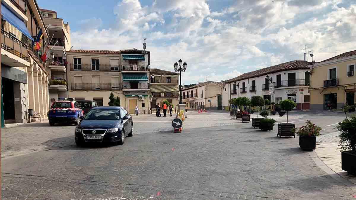Plaza Mayor de Morata de Tajuña