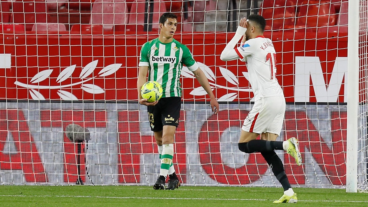 Liga Santander 2020-2021 | Sevilla – Betis, en directo. (AFP)