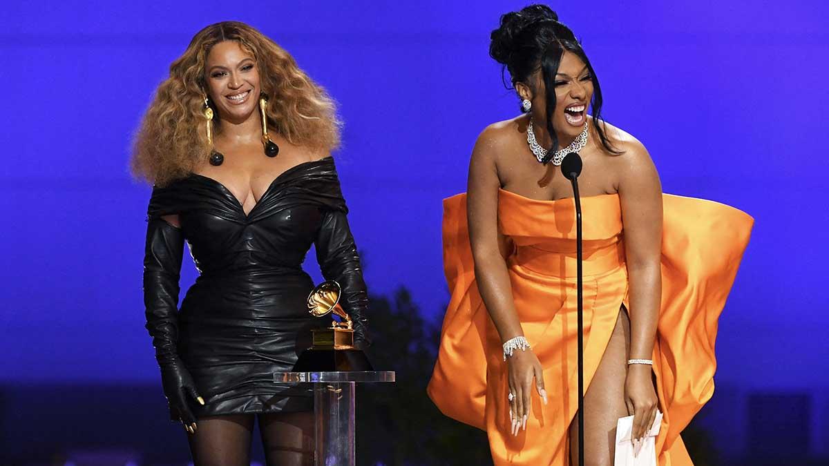 Beyoncé arrasa en los Grammy 2021. Foto: AFP
