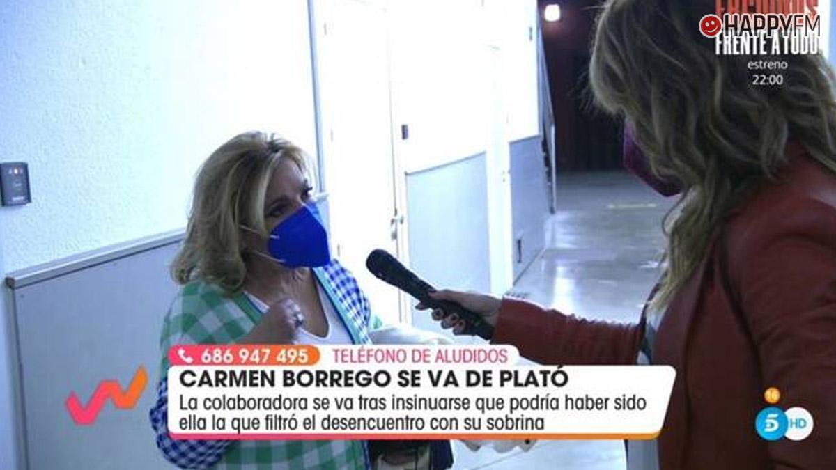 Carmen Borrego en 'Viva la vida'