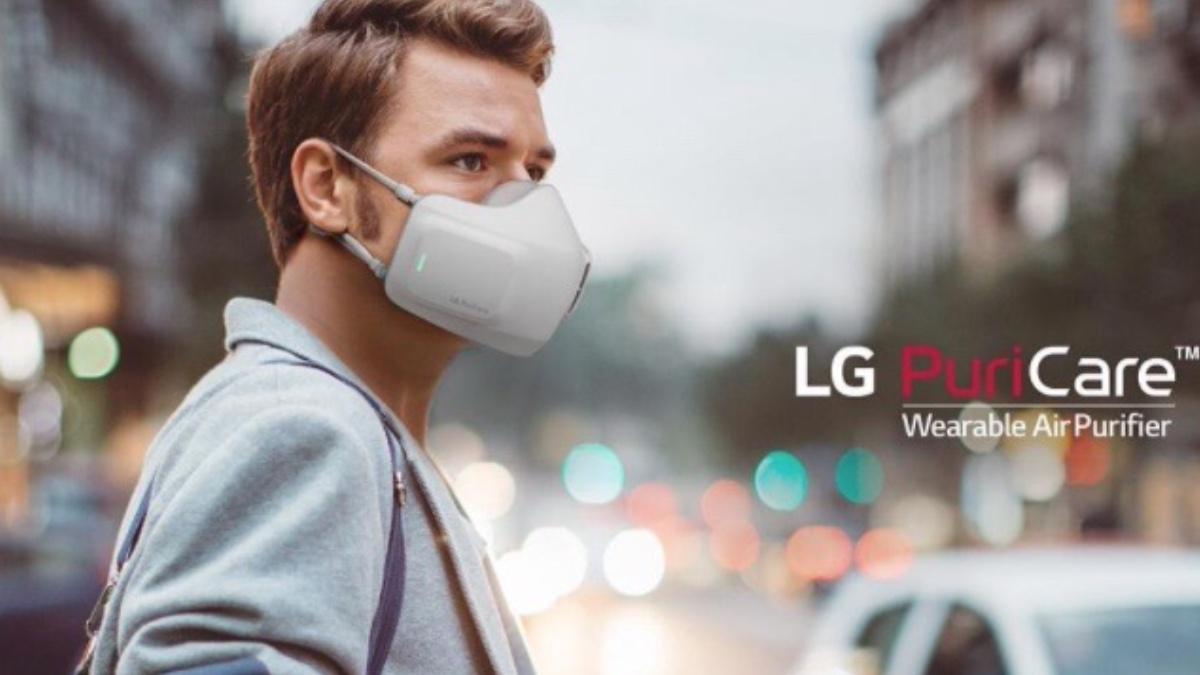 Mascarilla electrónica LG