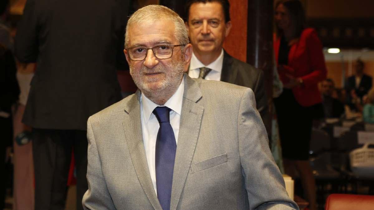 Alberto Castillo (Cs), presidente de la Asamblea de Murcia. (Foto: Asamblea)