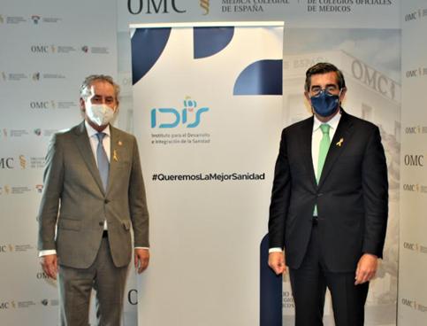Los médicos españoles se adhieren al Manifiesto 'Por una mejor Sanidad' impulsado por IDIS