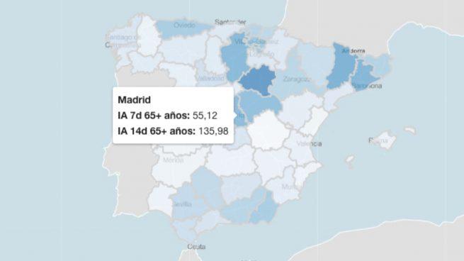 El Instituto Carlos III desmiente a Sanidad: Madrid ya no está en riesgo extremo por coronavirus
