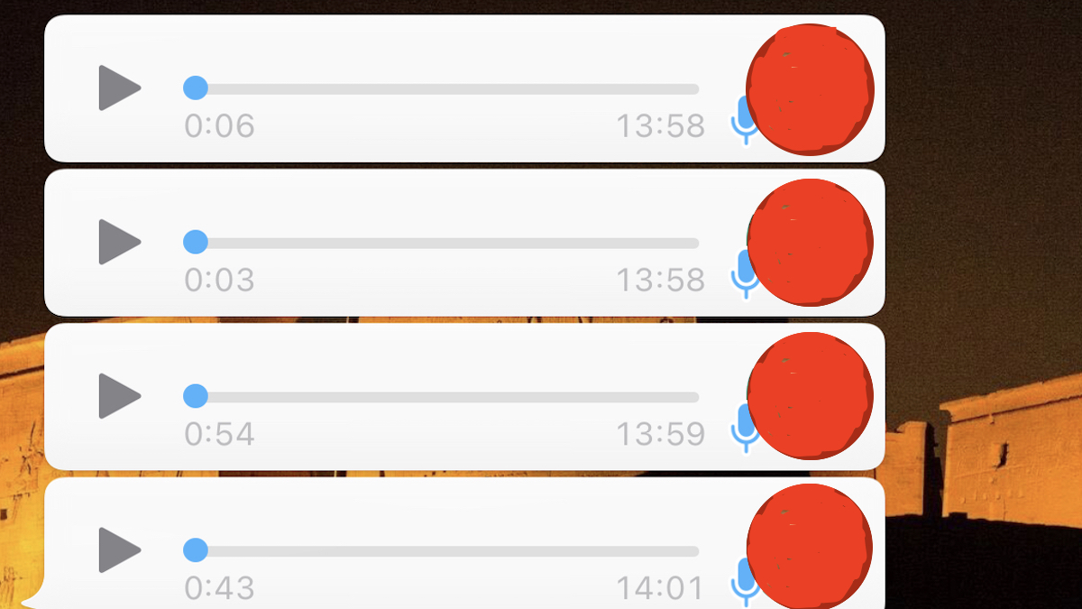 Reproducir audios de WhatsApp