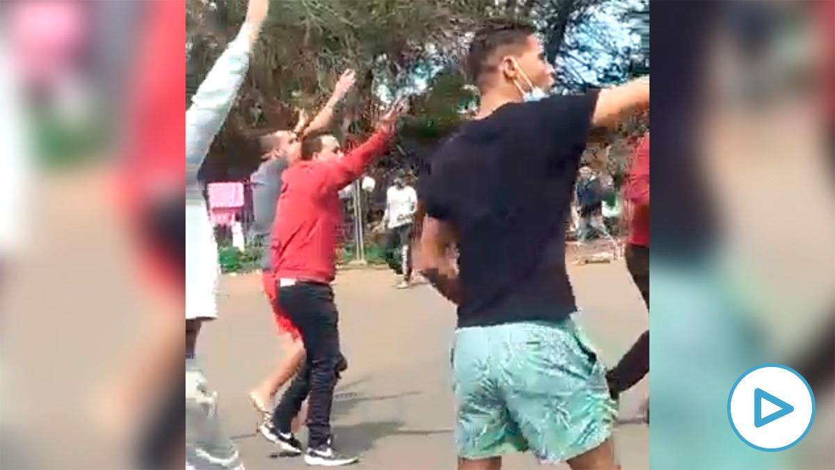 Cientos de inmigrantes ilegales protagonizaron actos violentos este fin de semana en el campamento de Las Raíces en Tenerife.