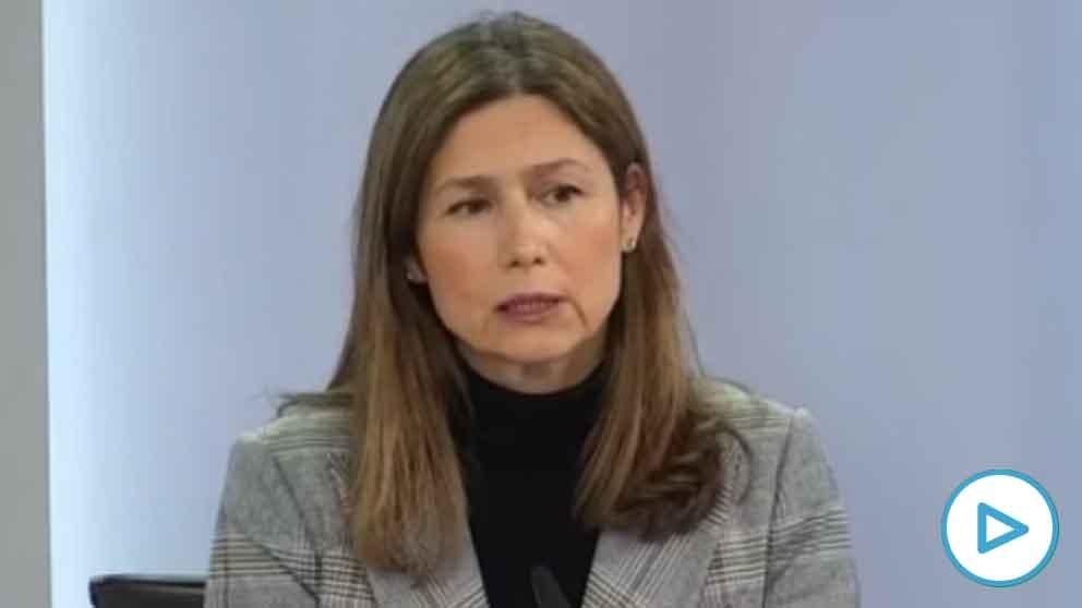 La directora de la Agencia Española del Medicamento.