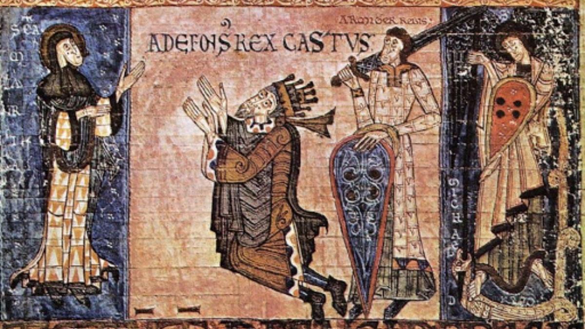 Alfonso II de Asturias, conocido como 'el Casto'