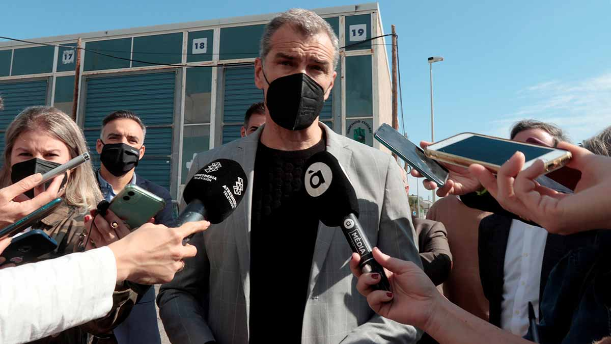 El ex coordinador autonómico de Ciudadanos (Cs) en la Comunitat Valenciana, Toni Cantó. Foto: EFE
